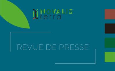 Revue de presse Novalis Terra : les plus belles retombées