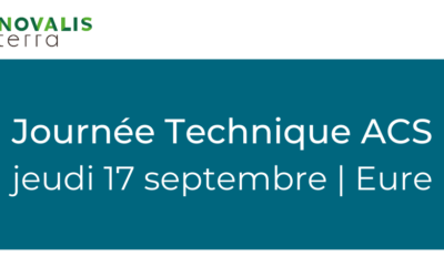 Invitation Journée Technique ACS du 17 septembre 2020